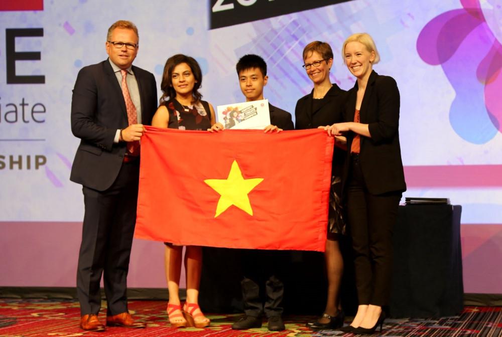 HS Việt Nam giành giải tại cuộc thi Thiết kế đồ họa thế giới 2019