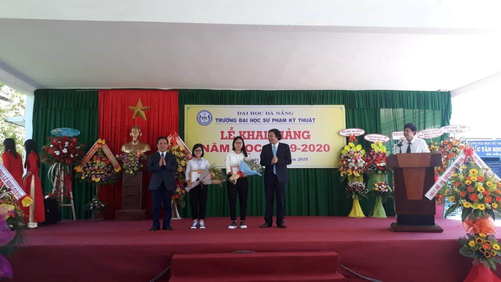 Trường ĐH Sư phạm Kỹ thuật, ĐH Đà Nẵng đón gần 1.200 SV nhập học