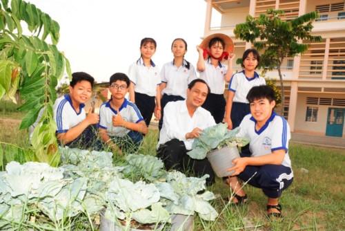 Cần Thơ: Chú trọng xây dựng cảnh quan trường học
