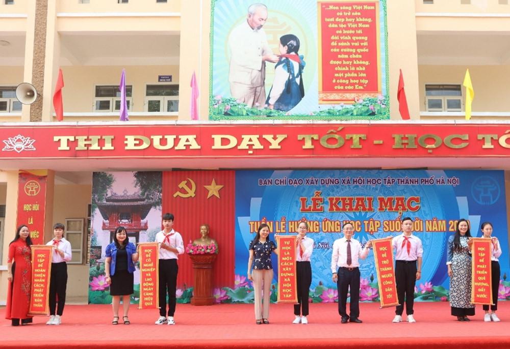 Hà Nội khai mạc tuần lễ hưởng ứng học tập suốt đời