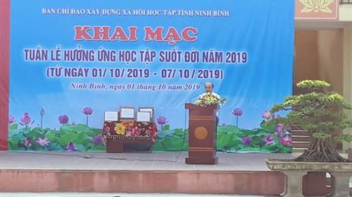 Ninh Bình: Khai mạc Tuần lễ hưởng ứng học tập suốt đời năm 2019 - Ảnh minh hoạ 2
