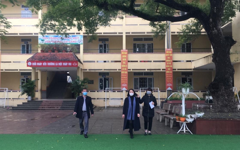Vĩnh Phúc: Tiếp tục nghỉ học đến ngày 23/2, 38 học sinh chỉ ho sốt thông thường