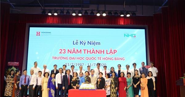 Trường Đại học Quốc tế Hồng Bàng kỉ niệm 23 năm thành lập