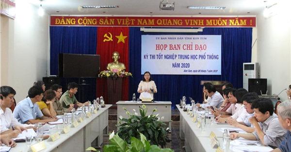 Kon Tum: Tạo điều kiện tốt nhất cho thí sinh tham gia Kỳ thi tốt nghiệp THPT