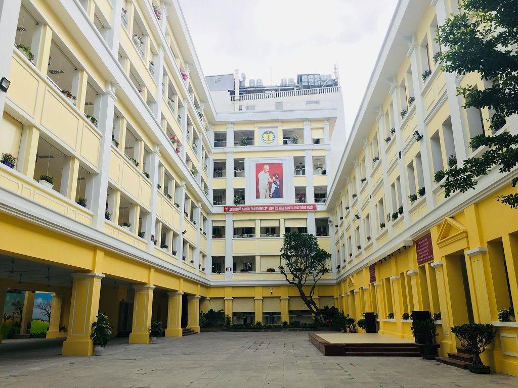 Học sinh Tiểu học Tràng An hào hứng học tập tại ngôi trường mới khang trang, hiện đại