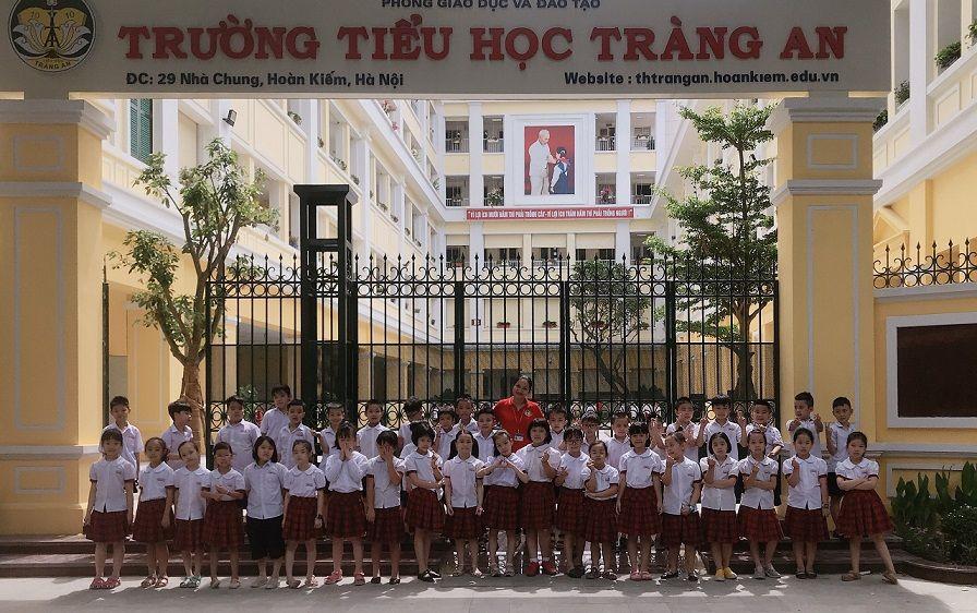 Học sinh Tiểu học Tràng An hào hứng học tập tại ngôi trường mới khang trang, hiện đại - Ảnh minh hoạ 13