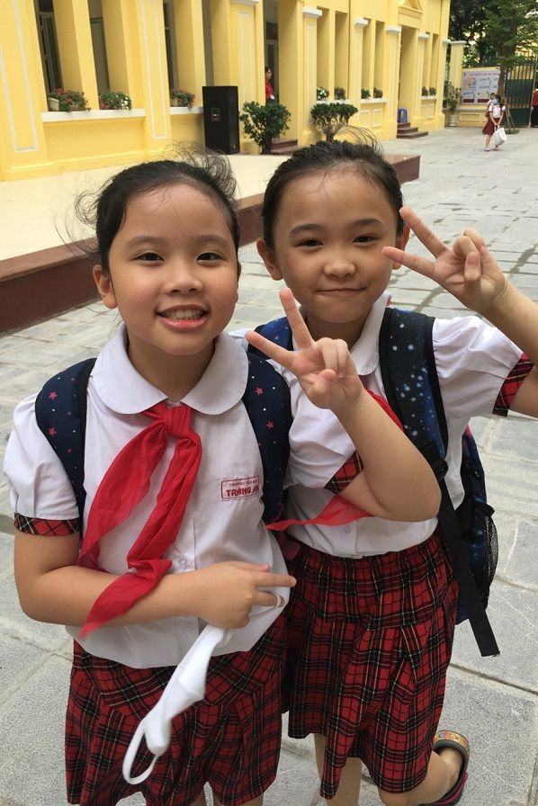 Học sinh Tiểu học Tràng An hào hứng học tập tại ngôi trường mới khang trang, hiện đại - Ảnh minh hoạ 2