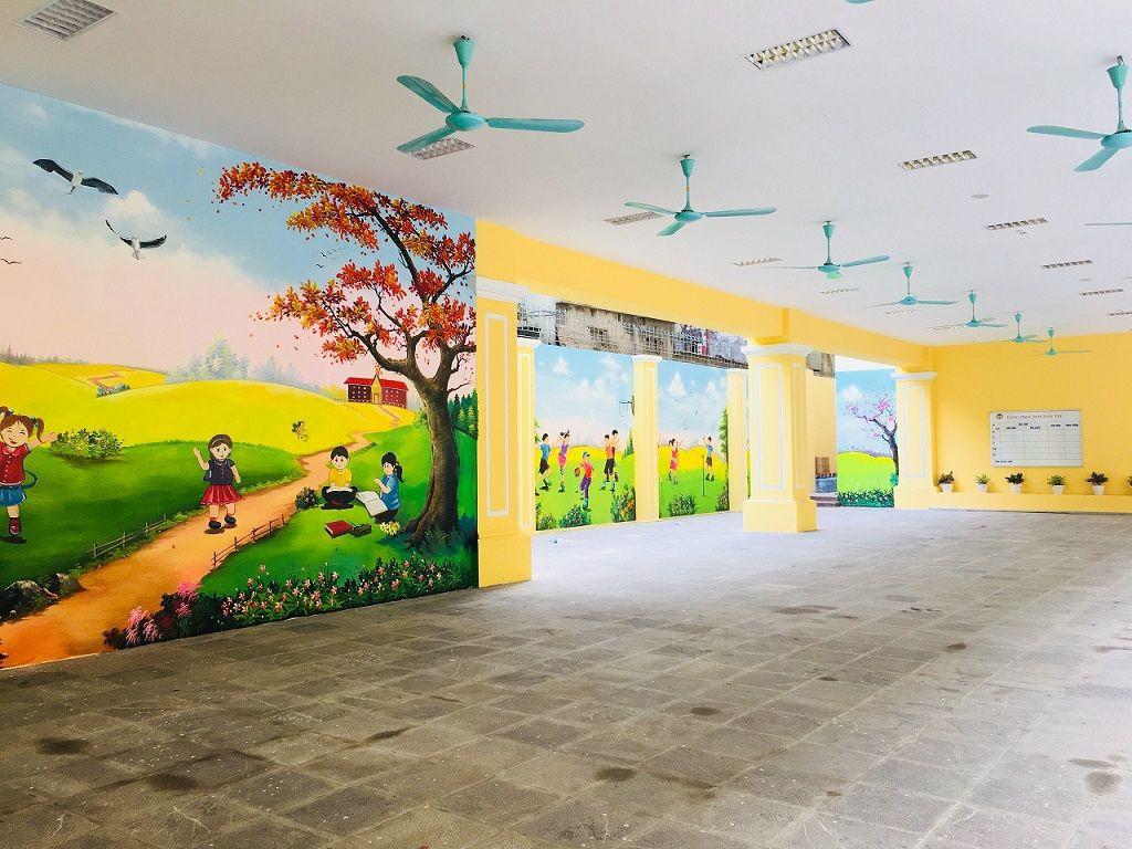 Học sinh Tiểu học Tràng An hào hứng học tập tại ngôi trường mới khang trang, hiện đại - Ảnh minh hoạ 3