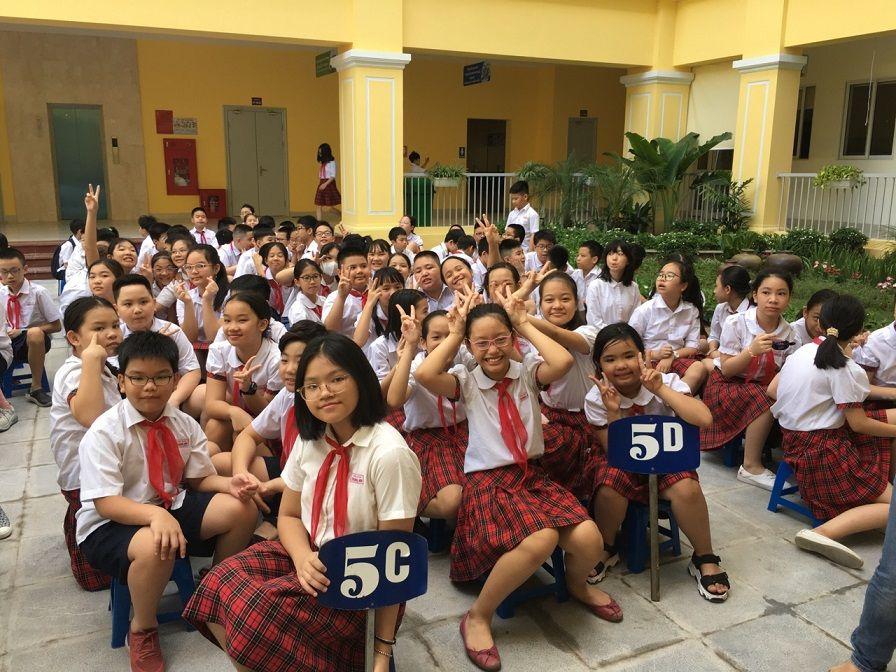 Học sinh Tiểu học Tràng An hào hứng học tập tại ngôi trường mới khang trang, hiện đại - Ảnh minh hoạ 4