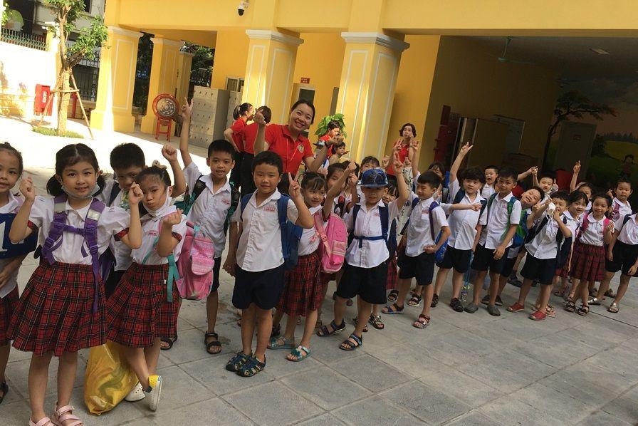 Học sinh Tiểu học Tràng An hào hứng học tập tại ngôi trường mới khang trang, hiện đại - Ảnh minh hoạ 8