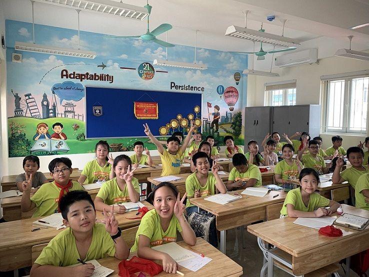 Học sinh Tiểu học Tràng An hào hứng học tập tại ngôi trường mới khang trang, hiện đại - Ảnh minh hoạ 9