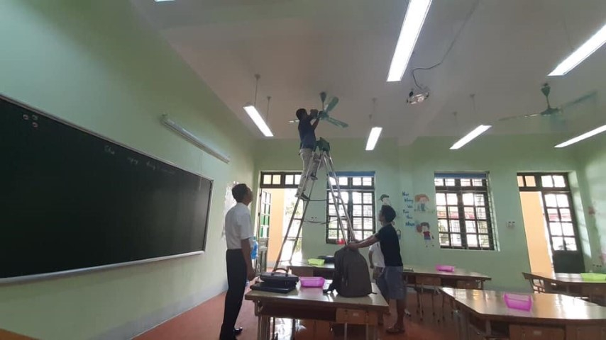 Rà soát cơ sở vật chất trường học tại Lào Cai: Kiểm tra từ chi tiết nhỏ nhất