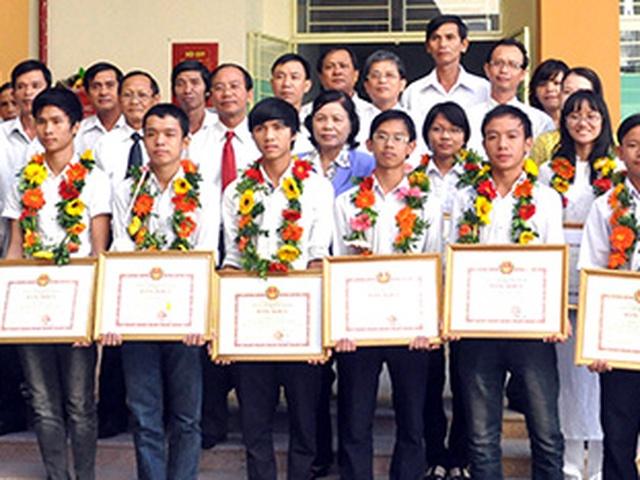 93 giải Nhất học sinh giỏi quốc gia rải đều ở các vùng miền trong cả nước